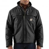 Carhartt 100107 Woodward Quick Duck® Traditional Jacket - Quilt Lined Closeout