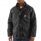Carhartt 100110 Sandstone Rancher Coat - Quilt Lined Closeout