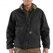 Carhartt 100112 Muskegon Sandstone Jacket - Sherpa Lined Closeout
