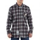 Carhartt 100168 Flame-Resistant Work-Dry® Plaid Shirt Closeout