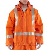 Carhartt 100447 Flame-Resistant High Visibility Rain Jacket