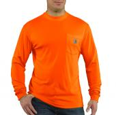 Carhartt 100494 Force® Color Enhanced Long Sleeve T-Shirt