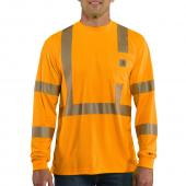 Carhartt 100496 Force® Class 3 High-Visibility Long Sleeve T-Shirt