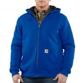 Carhartt 100631 3-Season Midweight Zip Front Hooded Sweatshirt                    Closeout