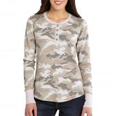 Carhartt 100686 Women's Hayward Long Sleeve Henley T-Shirt            Closeout