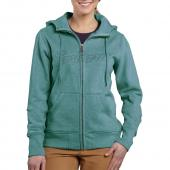 Carhartt 100704 Women's Clarksburg Zip Front Hooded Sweatshirt