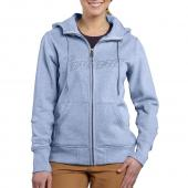 Carhartt 100704 Women's Clarksburg Zip Front Hooded Sweatshirt        Closeout