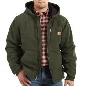 Carhartt 100729 Chapman Sandstone Jacket - Fleece Lined Closeout