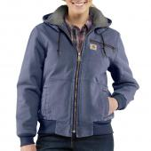 Carhartt 100815 Women's Weathered Duck Jacket - Sherpa Lined