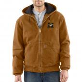 Carhartt 100839 Missouri Sandstone Active Jacket - Quilted Flannel Lined  Closeout