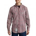 Carhartt 101028 Flame-Resistant Classic Plaid Shirt