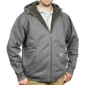 Carhartt 101062 Paxton Sherpa Lined Zip Front Hooded Sweatshirt Closeout