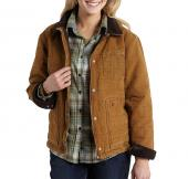 Carhartt 101405 Newhope Sandstone Jacket -  Fleece Lined