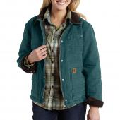 Carhartt 101405 Newhope Sandstone Jacket -  Fleece Lined Closeout