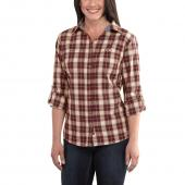 Carhartt 101434 Women's Dodson Long Sleeve Shirt Closeout