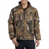 Carhartt 101444 Quick Duck® Camo Traditional Jacket - Quilt Lined