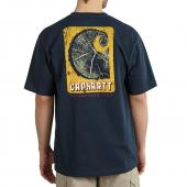 Carhartt 101525 Workwear Graphic Logger Short Sleeve T-Shirt