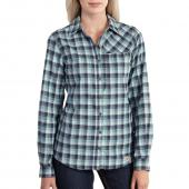 Carhartt 101789 Women's Force® Reydell Flannel Shirt