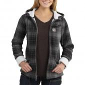 Carhartt 102190 Women's Cedar Hooded Jacket - Sherpa Lined Closeout