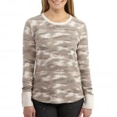 Carhartt 102312 Women's Meadow Printed Long Sleeve T-Shirt
