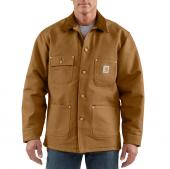 Carhartt C001 Duck Chore Coat - Blanket Lined