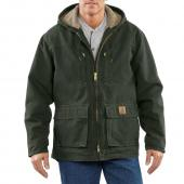 Carhartt C95 Jackson Sandstone Coat - Sherpa Lined Closeout