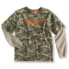 Carhartt CA8204 Camo Layered T-Shirt - Boys