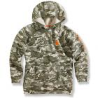 Carhartt CA8207 Graphic Fleece Hooded Sweatshirt - Boys