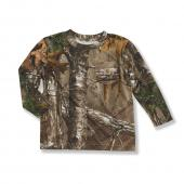 Carhartt CA8326 Work Camo Pocket T-Shirt - Boys Closeout