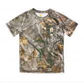 Carhartt CA8480 Force Camo Pocket T-Shirt - Boys