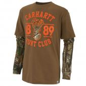 Carhartt CA8599 Hunt Club Layered Tee - Boys