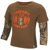 Carhartt CA8634 Hunt Club Layered Tee - Boys