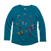 Carhartt CA9341 Painted Butterfly Long Sleeve Tee - Girls