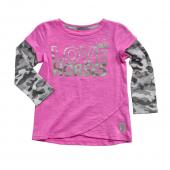 Carhartt CA9357 Camo Layered Tulip Tee - Girls
