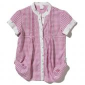 Carhartt CE9104 Woven Gingham Top - Girls Closeout