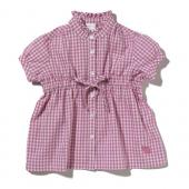 Carhartt CE9105 Gingham Prairie Shirt - Girls Closeout