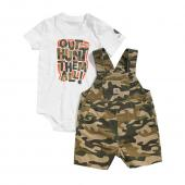 Carhartt CG8624 Brown Camo Shortall Set - Boys Closeout