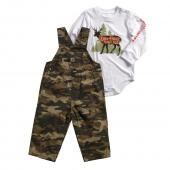 Carhartt CG8630 Out Hunt Overall Set - Boys