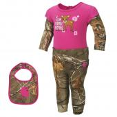 Carhartt CG9650 Camo 3pc Gift Set - Girls
