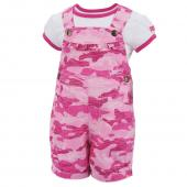 Carhartt CG9659 Camo Shortall Set - Girls