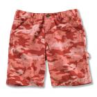 Carhartt CH8213 Washed Camo Duck Short - Girls Closeout