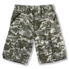 Carhartt CH8234 Washed Camo Ripstop Cargo Short- Boys