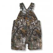 Carhartt CM8653 Washed Work Camo Ripstop Bib Shortall - Girls Closeout