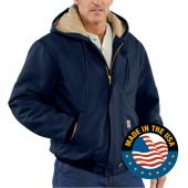 Carhartt FRJ184 Flame-Resistant Duck Active Jacket - Quilt Lined Closeout