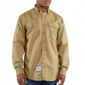 Carhartt FRS160 Flame-Resistant Long Sleeve Twill Pocket Shirt