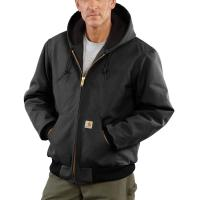 Carhartt J140 Duck Active Jacket - Quilted Flannel Lined