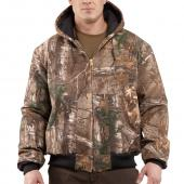 Carhartt J221 Camouflage Active Jacket - Quilted Flannel Lined