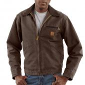 Carhartt J97 Detroit Sandstone Duck Jacket - Blanket Lined Closeout