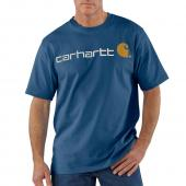Carhartt K195 Short Sleeve Logo T-Shirt Closeout