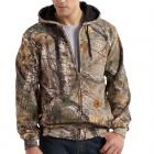 Carhartt K289 WorkCamo® Midweight Zip Front Hooded Sweatshirt